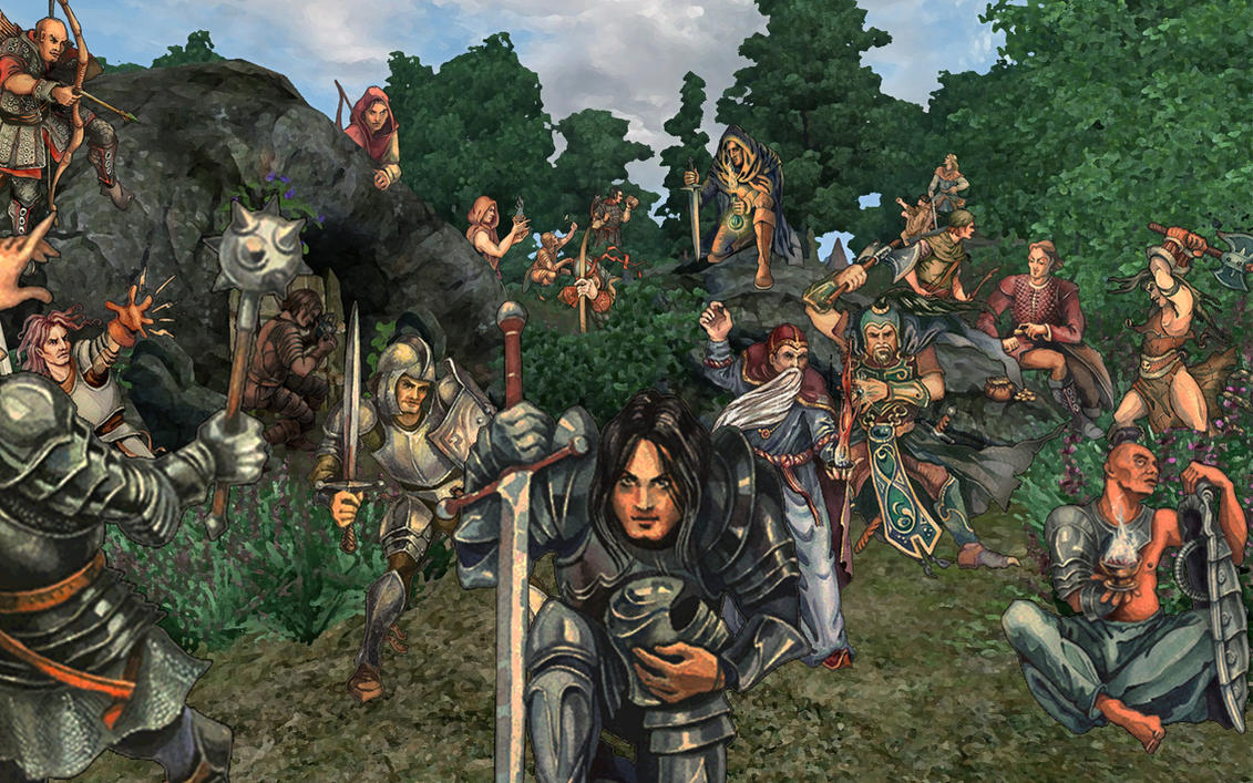 oblivion_classes_family_photo_by_7headed