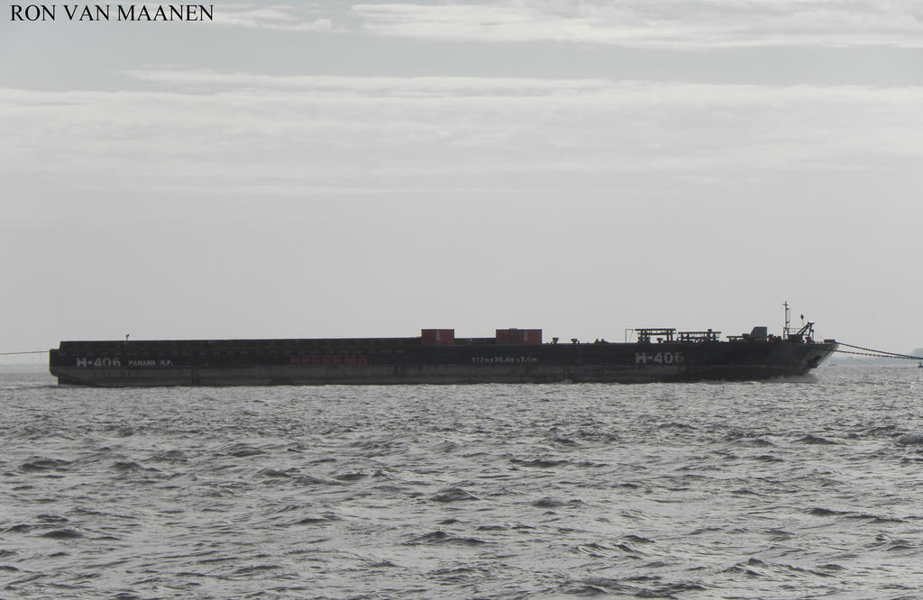 Dutch deck cargo pontoon H-406 2008- by roodbaard1958