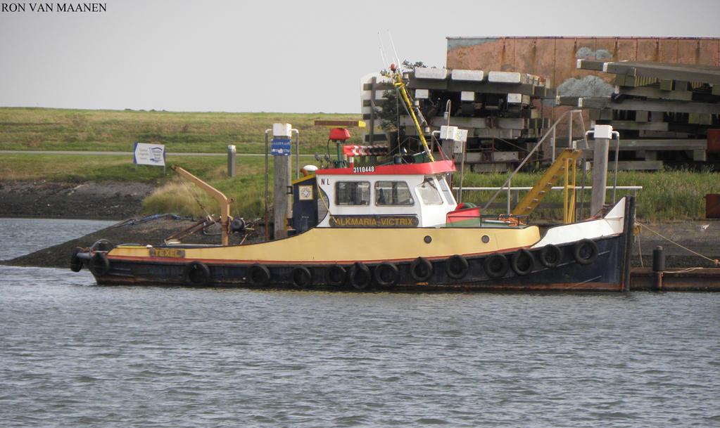 Dutch tug Alkmaria Victrix 1959- by roodbaard1958