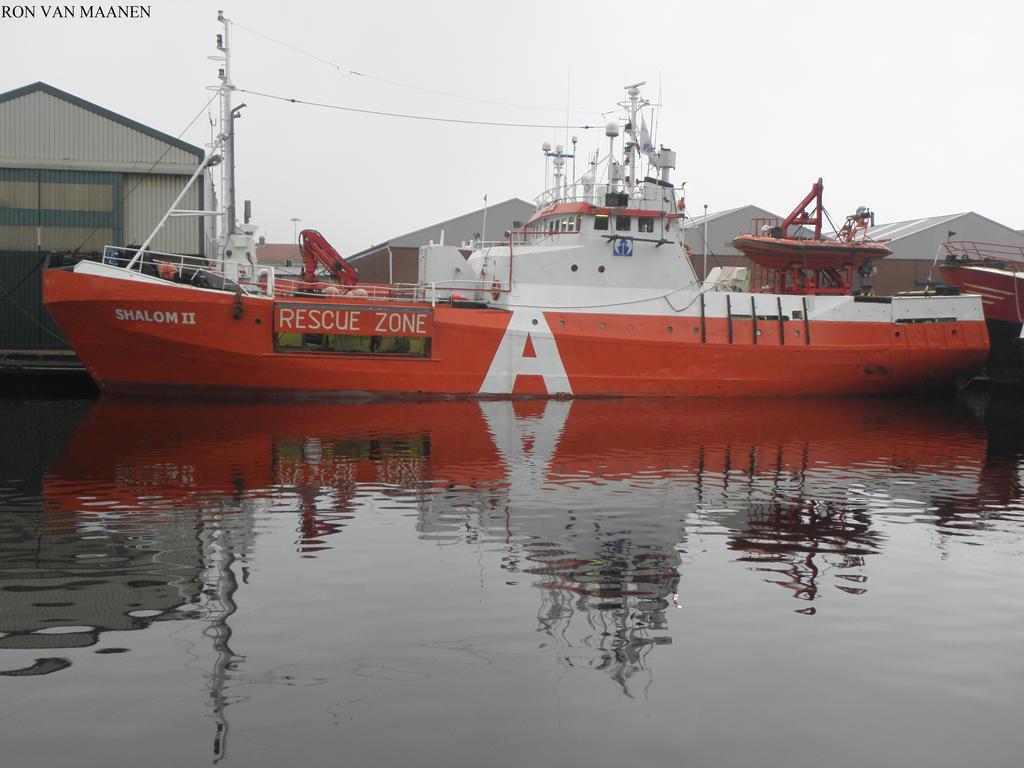 Dutch standby safety vessel Shalom II 1972- by roodbaard1958