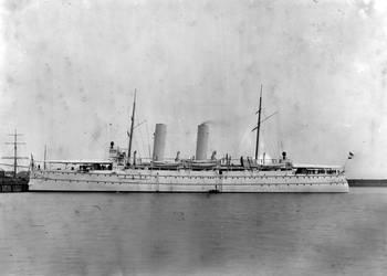 Dutch protected cruiser Hr. Ms. Zeeland 1895-1924 by roodbaard1958