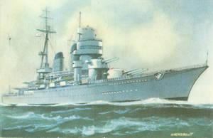 Russian training ship Novorossiysk 1949-1956