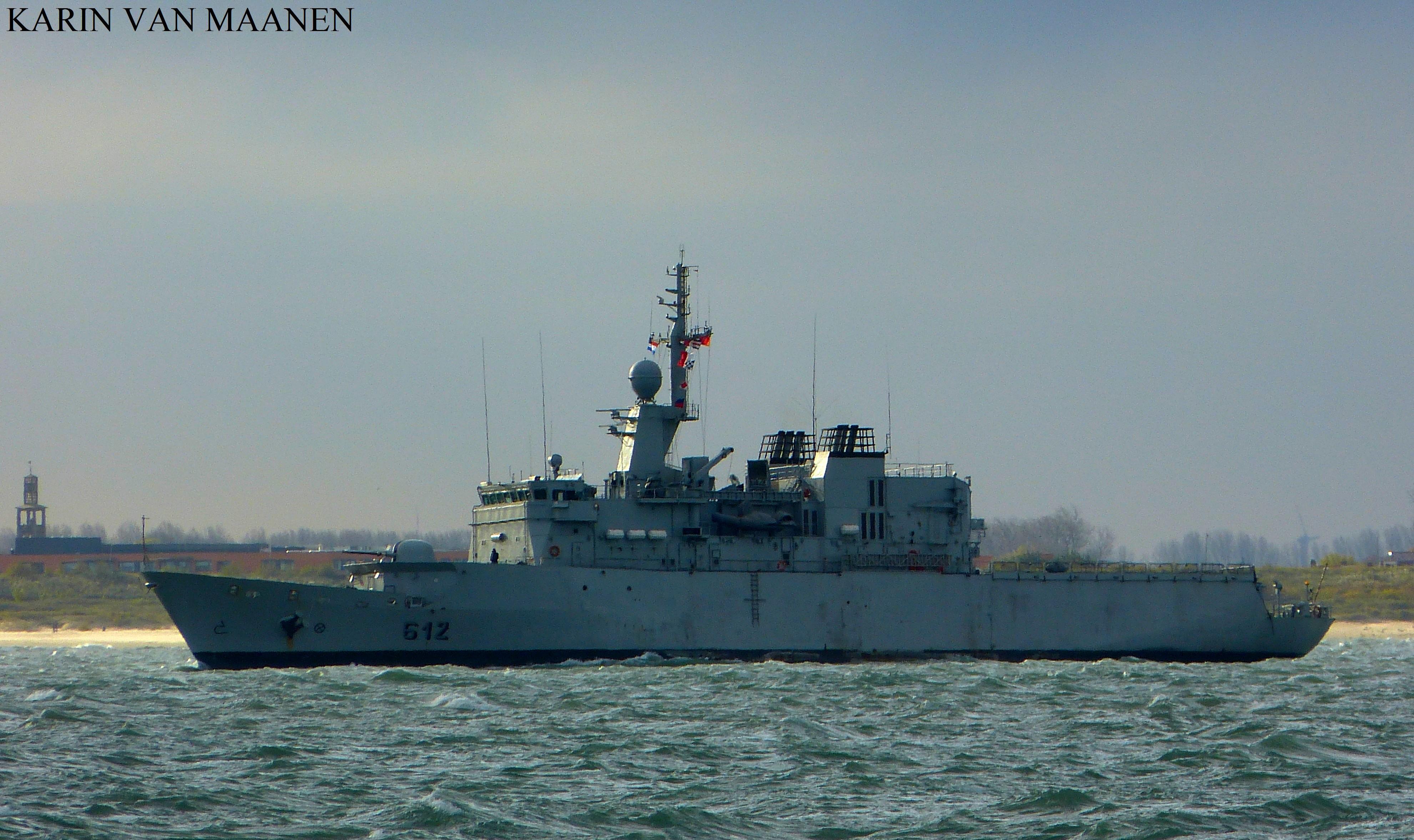 Royal Moroccan Navy Floréal Frigates / Frégates Floréal Marocaines - Page 12 Moroccan_light_surveillance_frigate_hassan_ii_by_roodbaard1958-dbtid2g