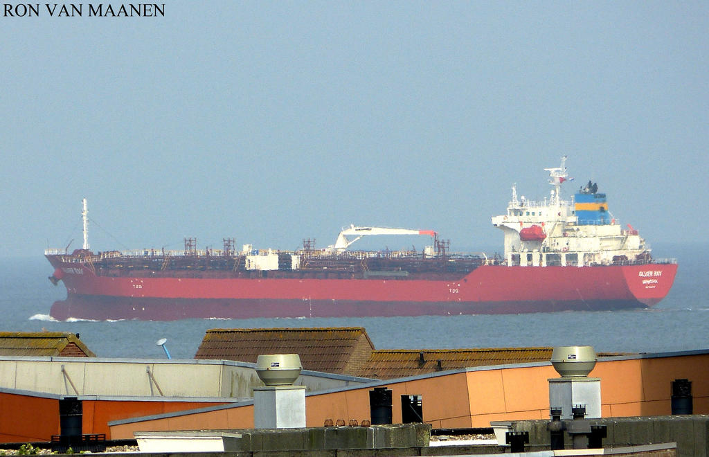 Singapore oil/chemical tanker (Silver Ray (2013) by