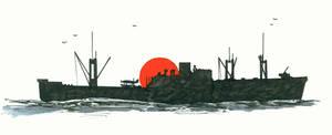 Japanese seaplane carrier Kamikawa Maru