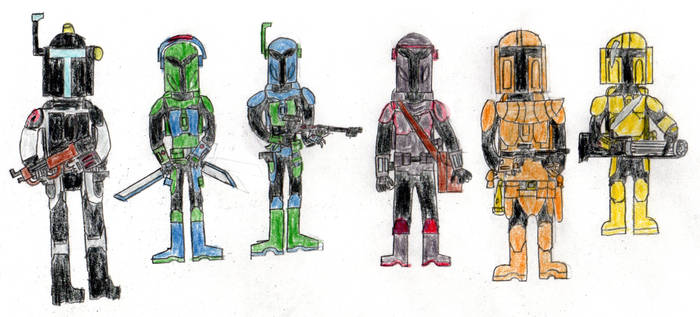 Mandalorian Squad part 1