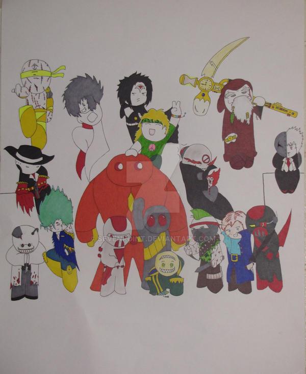 Original Character poster