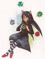 Homestuck: Witch of Space by Morisaurus