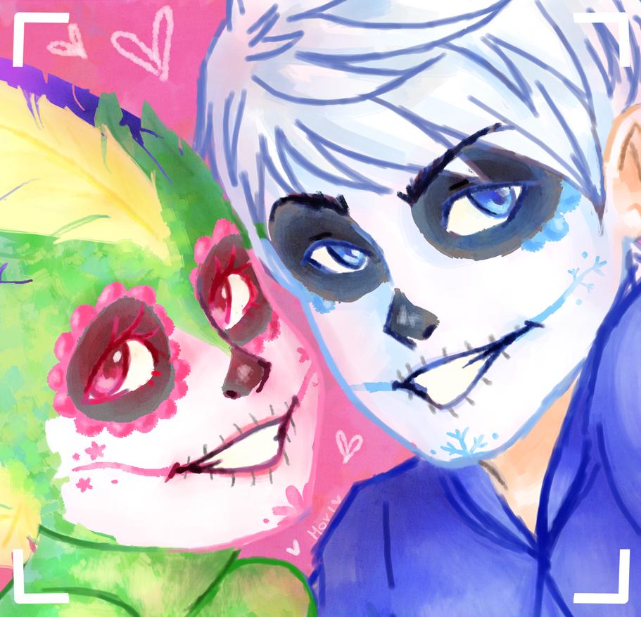 ROTG: Dia de muertos con Rainbow Snowcone by Morisaurus