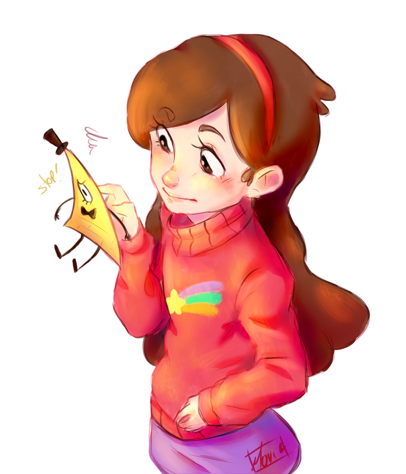 Gravity Falls: Little Bill by Morisaurus