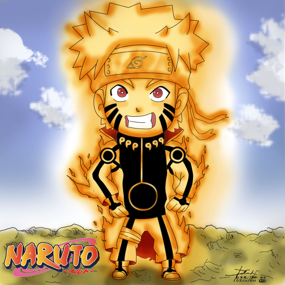 Naruto Bijuu mode Chibi by Zerdajuan on DeviantArt