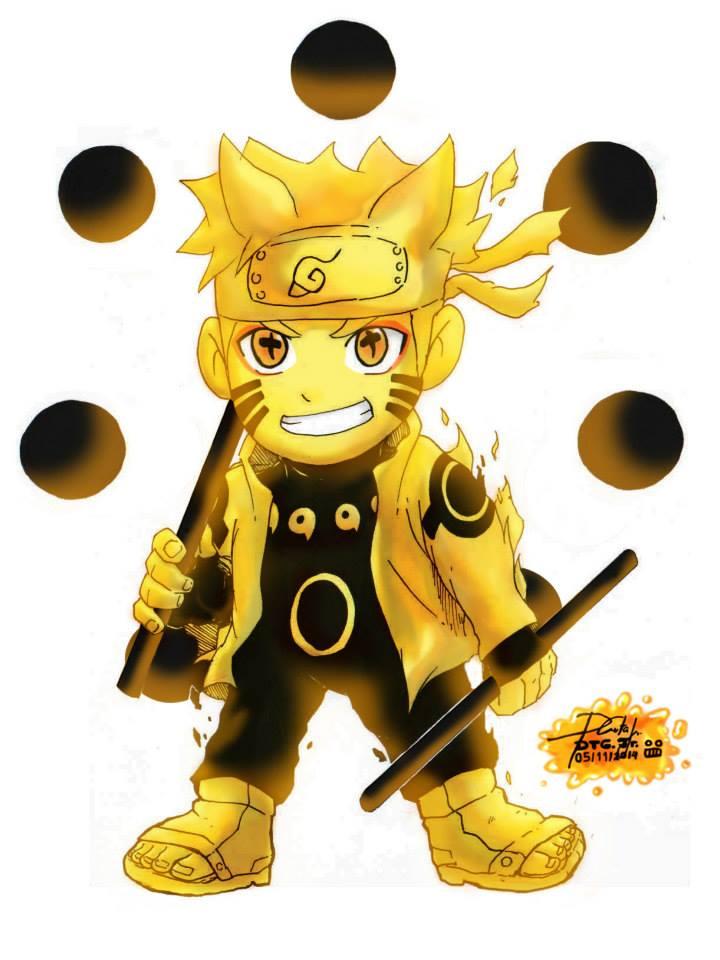 Naruto Chibi Ashura mode by Zerdajuan on DeviantArt