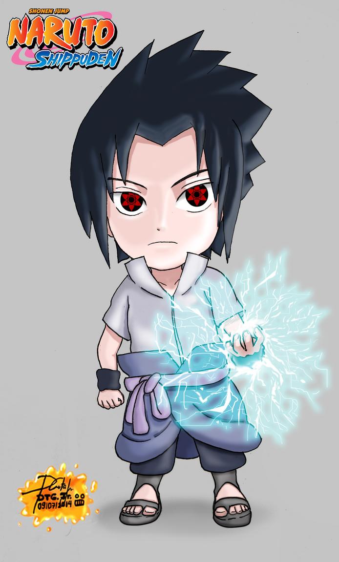 Sasuke Uchiha Chibi by Zerdajuan