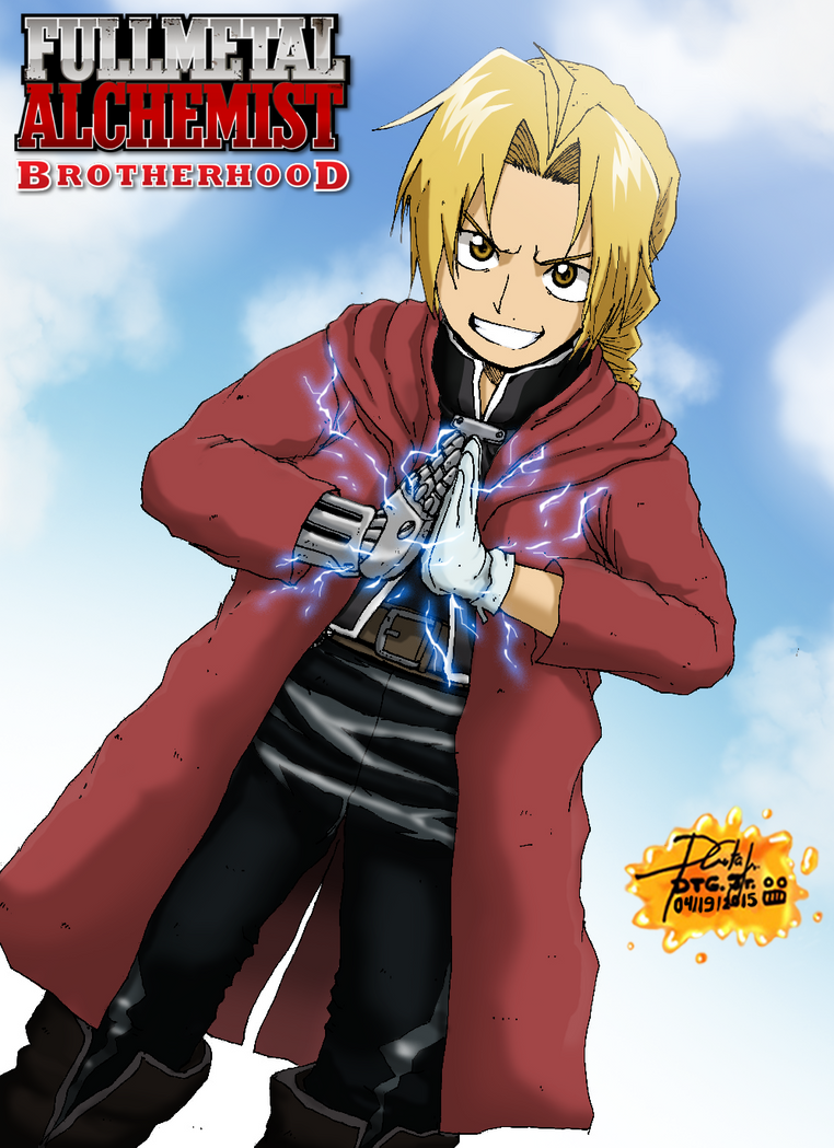 Edward Elric by Zerdajuan