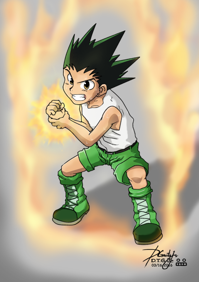 Gon Freecs by Zerdajuan