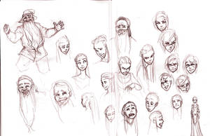 Facial Expressions by ancalinar