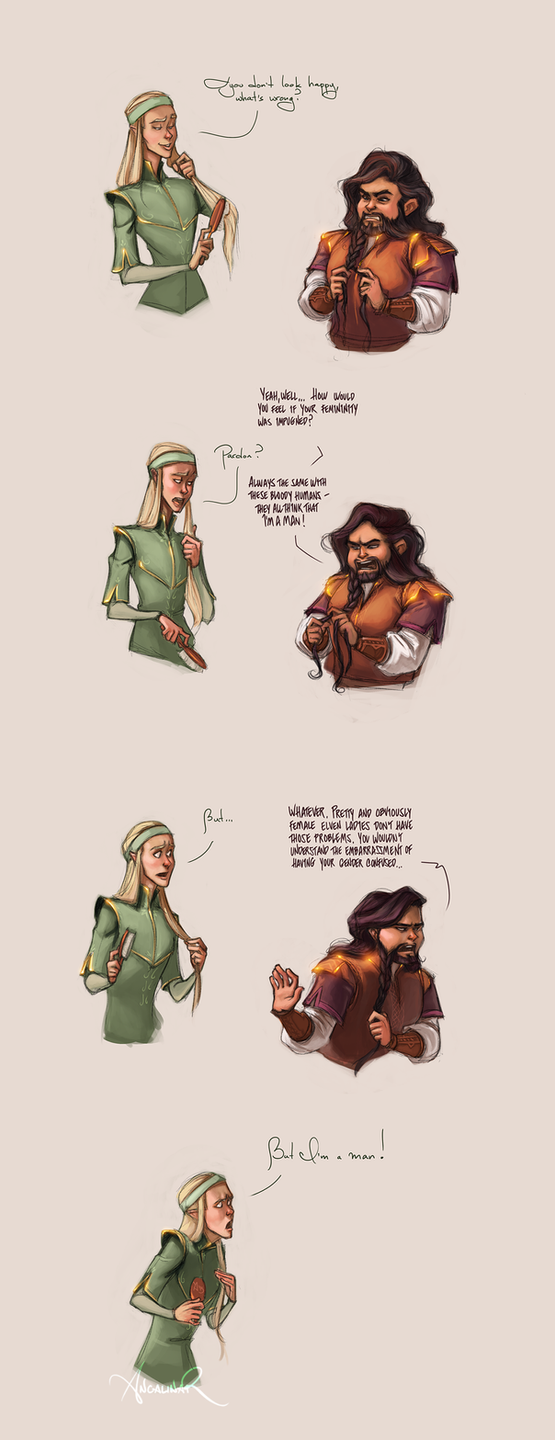 Dwarf World Problems by ancalinar