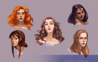 Dwarven Ladies