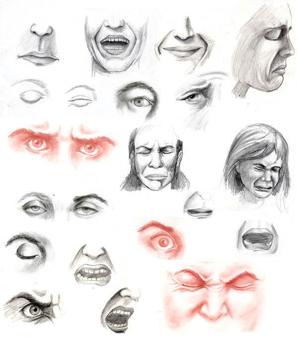 Art Facial Expressions 86