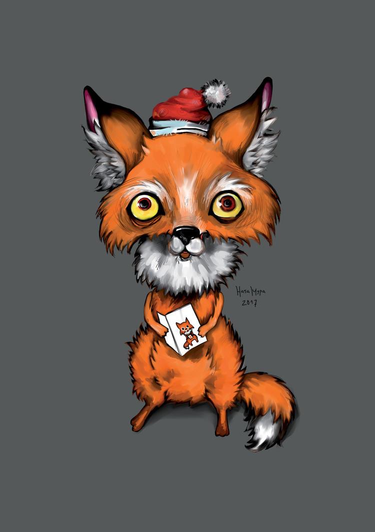 Happy fox by Natamura