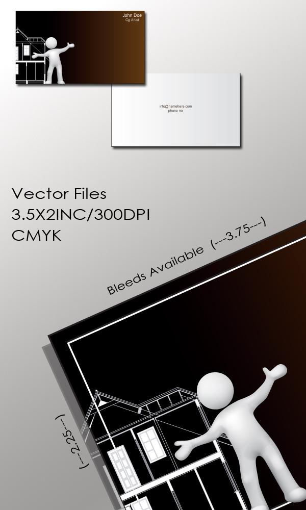 CG ARTIST BUSINESS CARD by dimplegal on DeviantArt