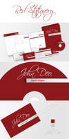 Red Full Stationery