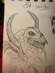 SkekMal first sketch attempt