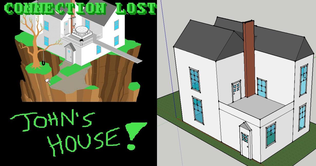 Google Sketchup 8 John 39 S House By Hyperactiveslurpie98