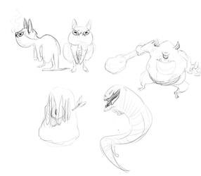 Monster Sketches 02