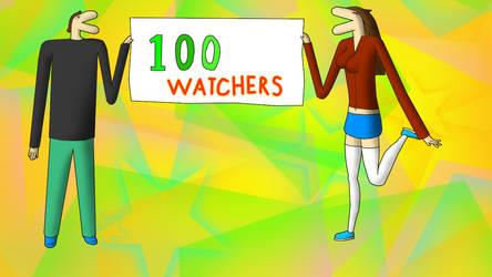 100 Watchers ceelbration