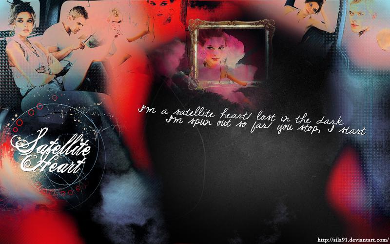 Satellite Heart - Wallpaper by sila91