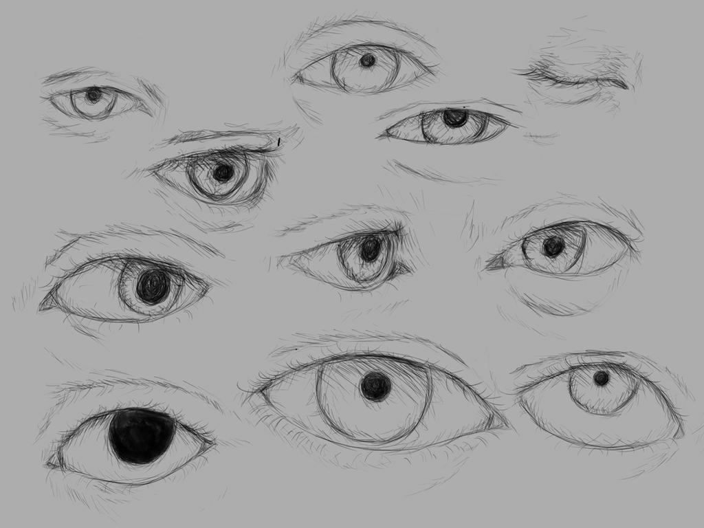 Studying eyes by gulnan