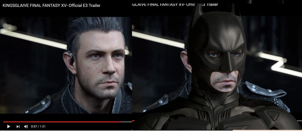 ben afleck in the new final fantasy movie kingslav by
