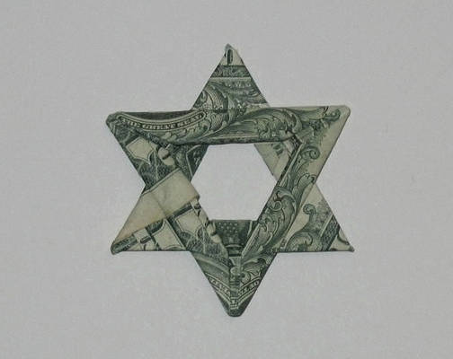 'Star of David' Origami