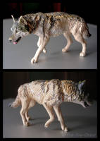 Kaiyodo ChocoQ Wolf Figure by The-Toy-Chest