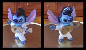 Stitch As Elvis - McD Bobble