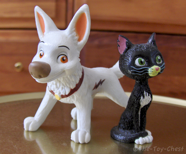 Bolt And Mittens Figure Set by The-Toy-Chest