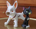 Bolt And Mittens Figure Set