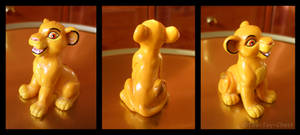 Lion King - Sitting Simba PVC