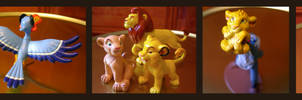Lion King Figure Set - Hasbro