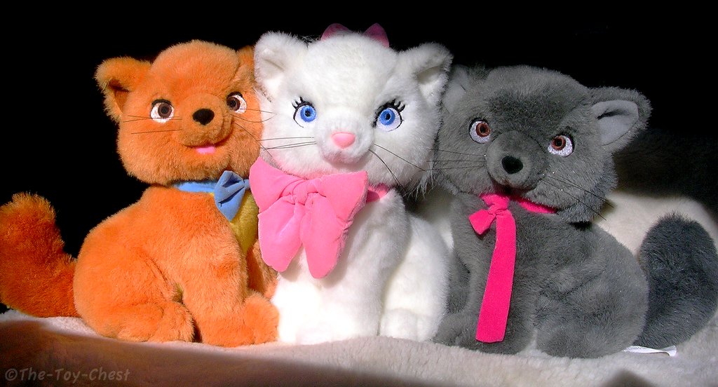 Aristocats Plush Kittens Set by The-Toy-Chest