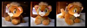 Disney Store Oliver Cat Plush