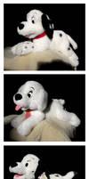 102 Dalmatians Disney Store Plush Trio