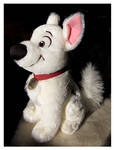 Disney Store - Medium Sitting Bolt Plush