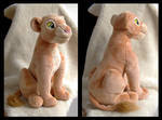 Disney Store Adult Nala Plush