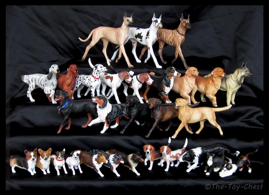 Breyer Toy Dogs