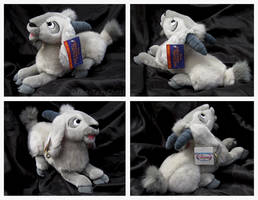 Disney Store - Lying Djali Goat Plush by The-Toy-Chest