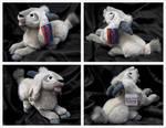 Disney Store - Lying Djali Goat Plush