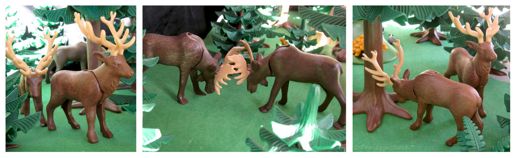 Playmobil Ravenwood Moose And Elk By The Toy Chest On Deviantart