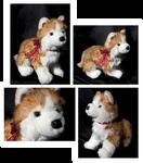 Douglas Medium Floppy Dogs - Rubin Russet Husky